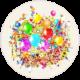 Букеты с шарами и цветами