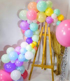 Фотозона из воздушных шаров Ассорти