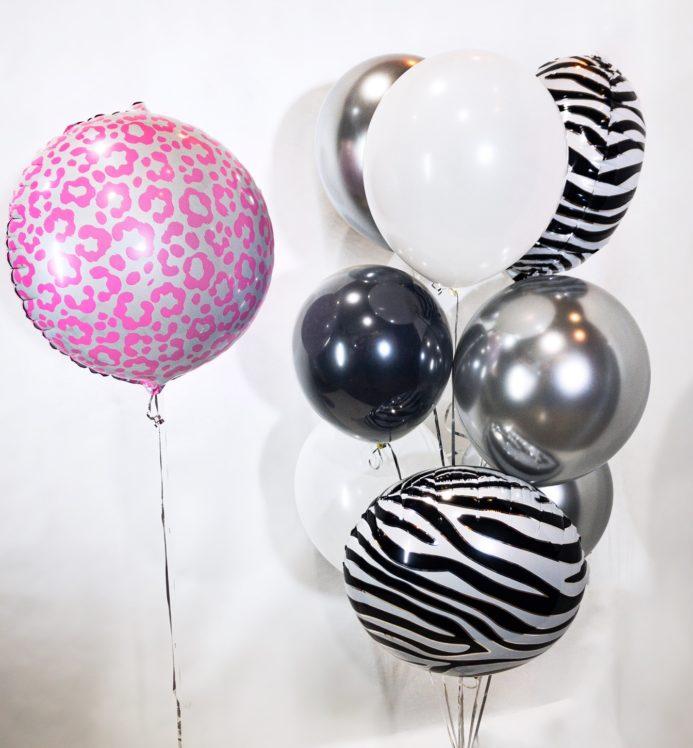 Композиция из воздушных шаров Анималистика