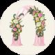 Оформление цветами