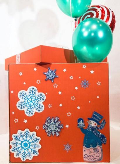Подарочная коробка новогоднего настроения