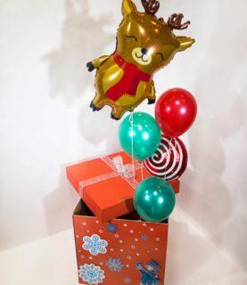 Коробка-сюрприз Новогодняя