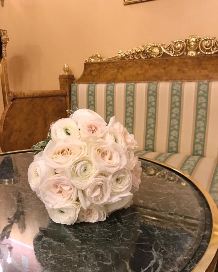Букет невесты Зефир