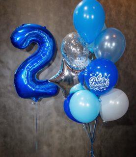 Этюд в синих тонах: фонтан на 2 года