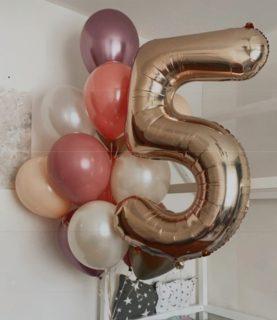 Набор воздушных шаров на 5-ти летие