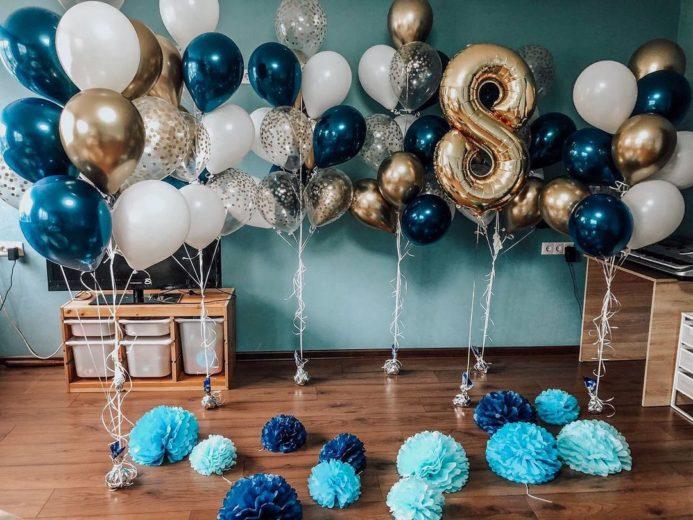 Супер набор воздушных шаров для Дня рождения