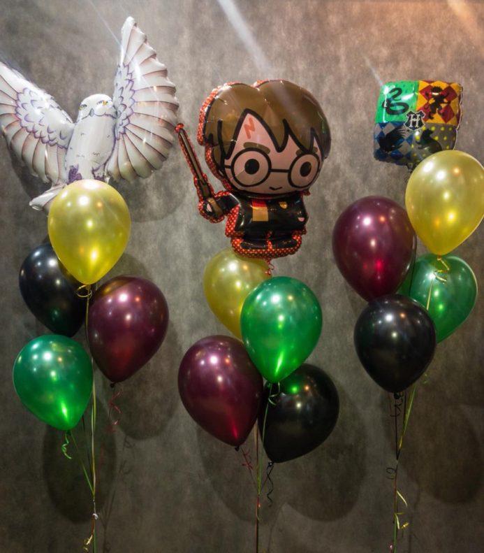 Композиция из воздушных шаров Гарри Поттер