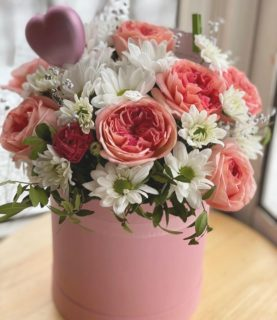 Очень красивая композиция из цветов