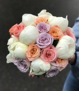 Идеальный и очень ароматный букет невесты