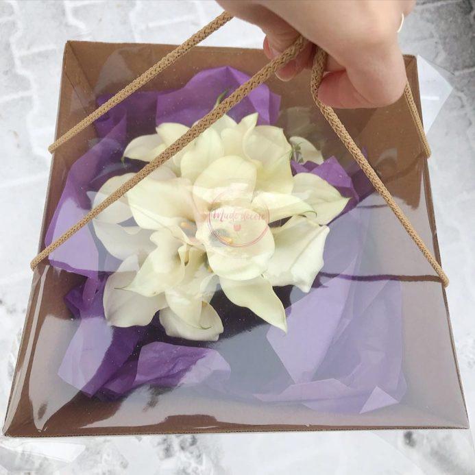 Белые каллы для образа невесты