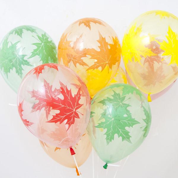 Воздушные шары и цветы на 1 сентября
