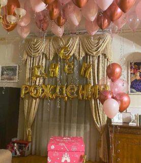 Сет из воздушных шаров на День рождения