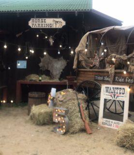 Оформление в стиле Техасское ранчо